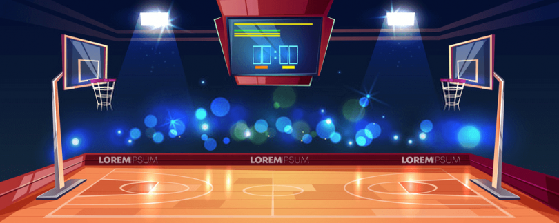 How long is a basketball court