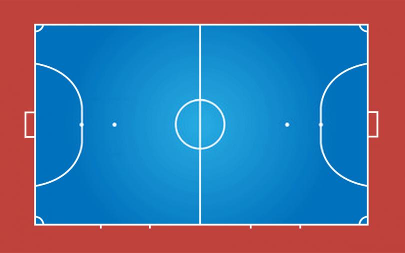 how big is a futsal court