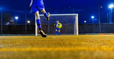 how long is a soccer goal
