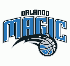The logo of the Orlando Magic, the NBA team
