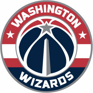 The logo of the Washington Wizards, NBA team